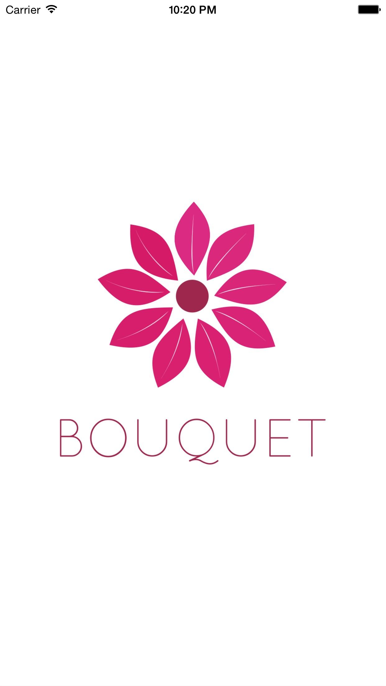Screenshot do app Bouquet - Um nova experiência de casamento