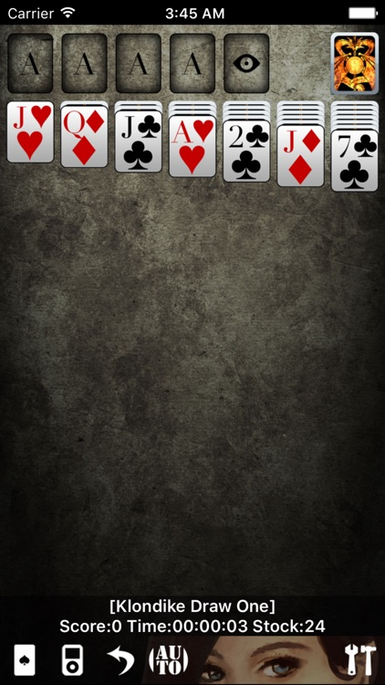 Solitaire * screenshot-1