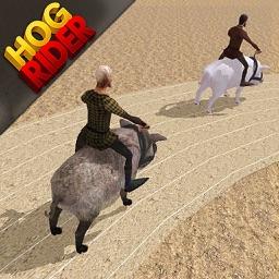 Hog Rider : Ride & Race Pigs