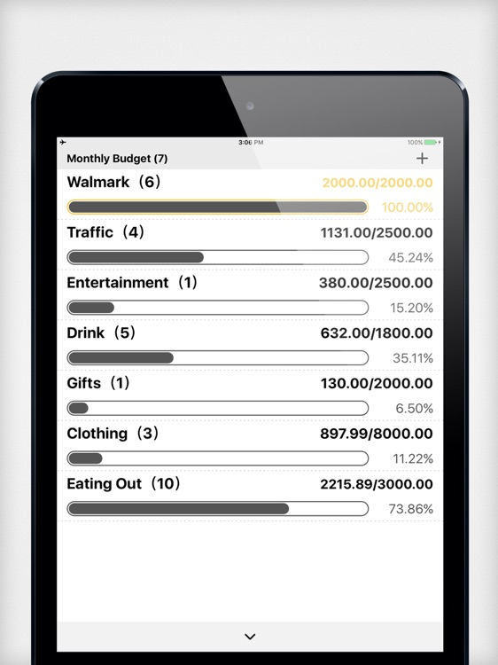 Daily Expense Tracker 2 HD-Home Budget,Daily Cost!