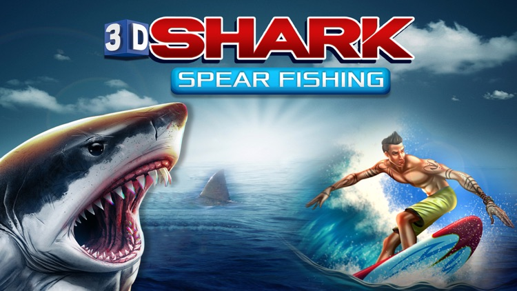 3D Shark Spear-fishing Hungry Sniper world Games