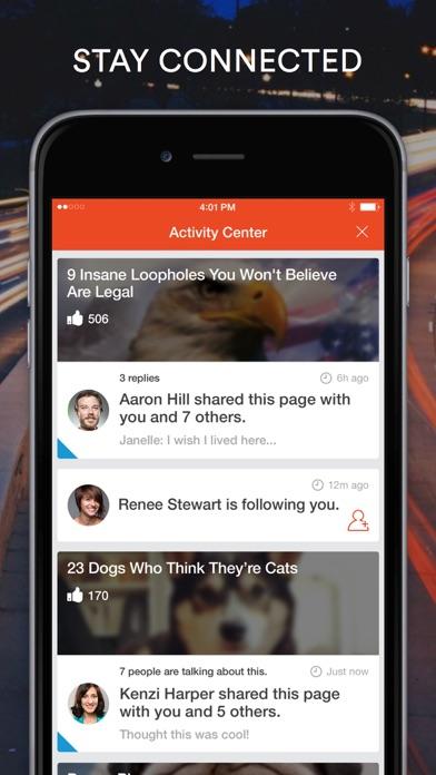 Screenshot 4 for StumbleUpon's iPhone app'