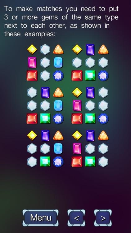 Diamond Stacks Mania : match 3 jewel gems puzzle!
