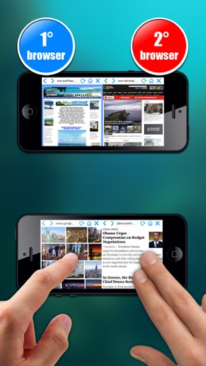 Double Browser ( 2  in 1 ) Screenshot