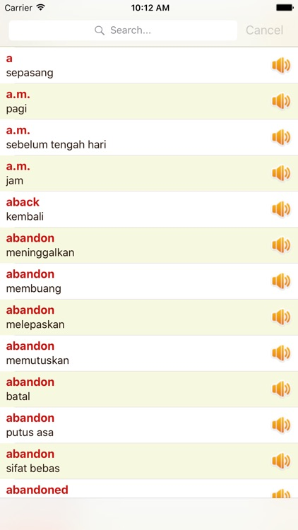 English Indonesian Dictionary Offline Free screenshot-3