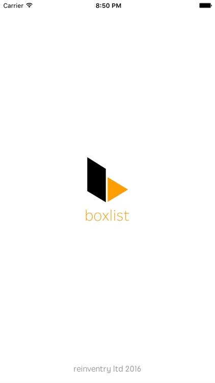 Boxlist