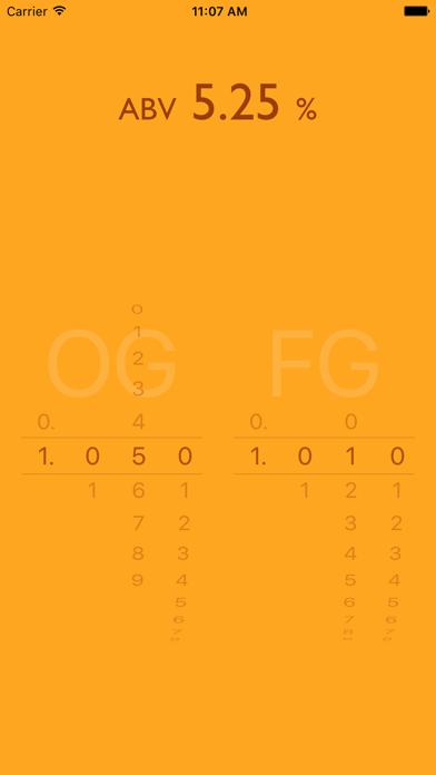 ABV CalculatorScreenshot of 1