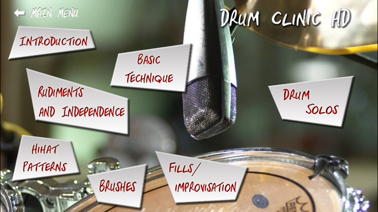 Drum Clinic HD screenshot-0