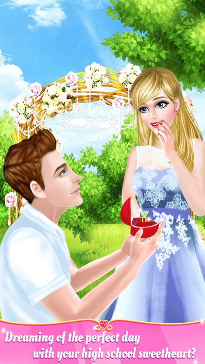 High School Sweetheart Wedding Day Salon for Girls screenshot-0