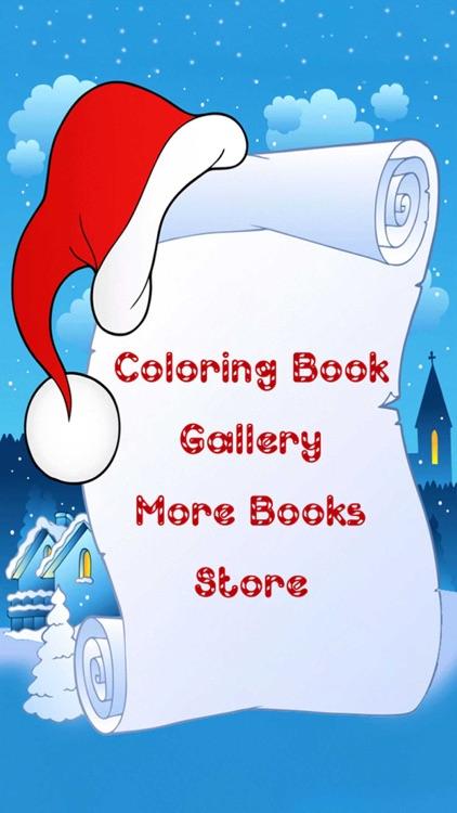 Christmas Coloring Book! screenshot-3