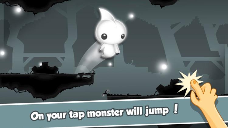 Cute Little Monster's Flying Dash – Endless Arcade Game screenshot-3