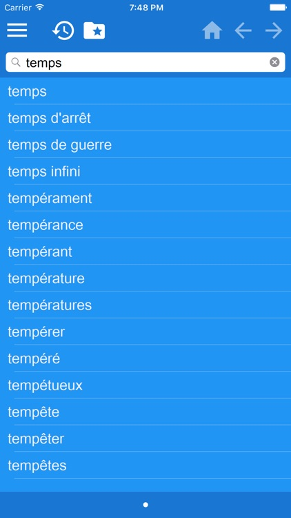 Turkish French dictionary