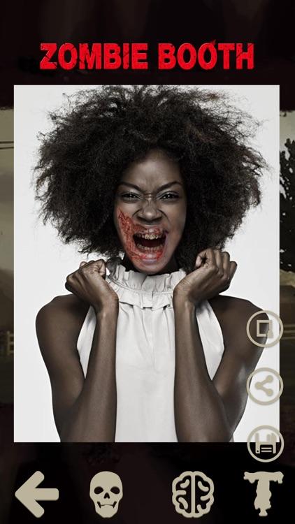 Zombie Camera - Halloween Face
