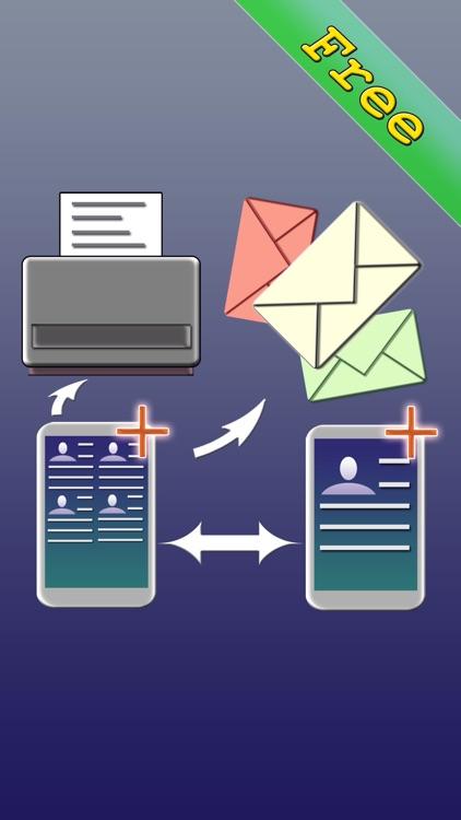 Free Bulk SMS Multi Address Book Organizer+