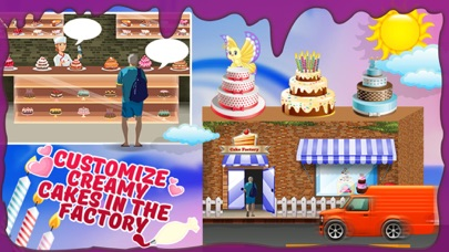 Cake Factory – Make dessert in this cooking game screenshot two