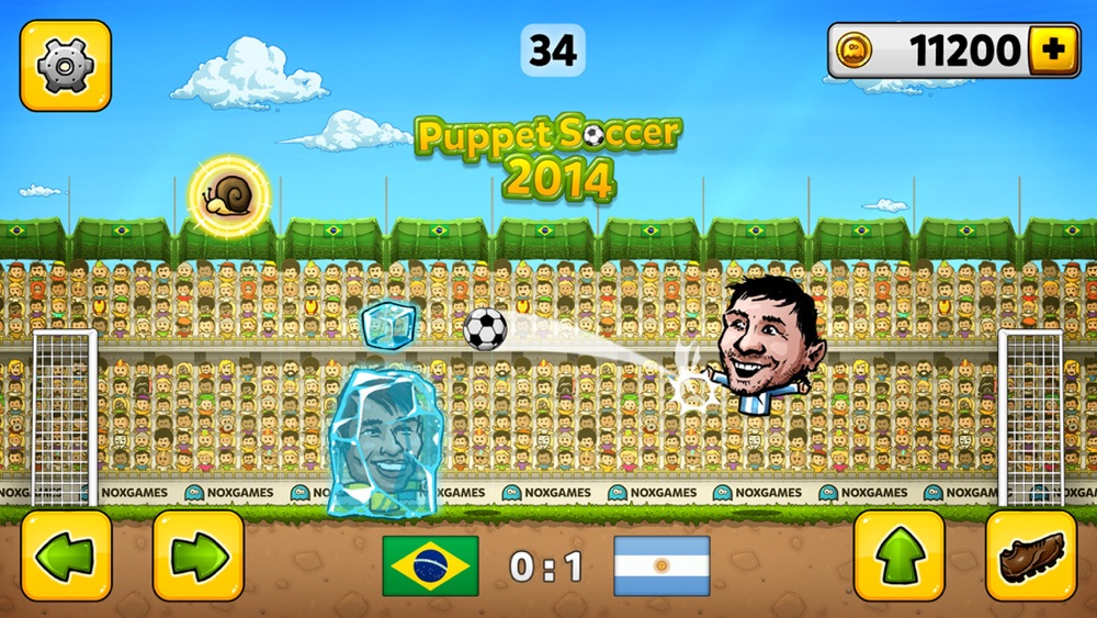 Puppet Soccer 2014 – Football championship in big head Marionette World Cheat Codes