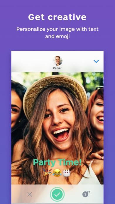 Blur - Private Fotos teilen, die verschwindenScreenshot von 2