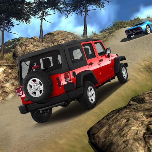 Off-Road Mountain Car : 3D Simulation Game Mania icon