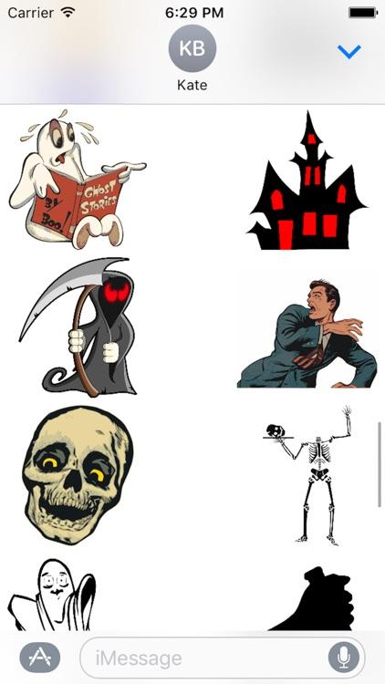 Halloween Stickers Sheet screenshot-4
