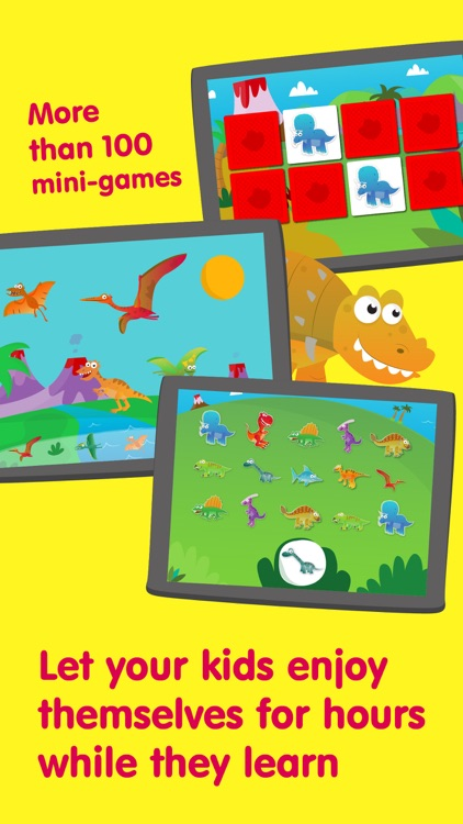 Planet Dinos – Dinosaur Games for Kids & Toddlers