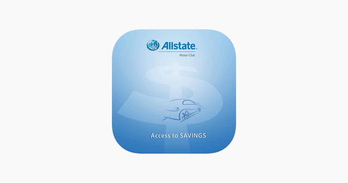 Allstate Motor Club >> Allstate Motor Club Access To Savings On The App Store
