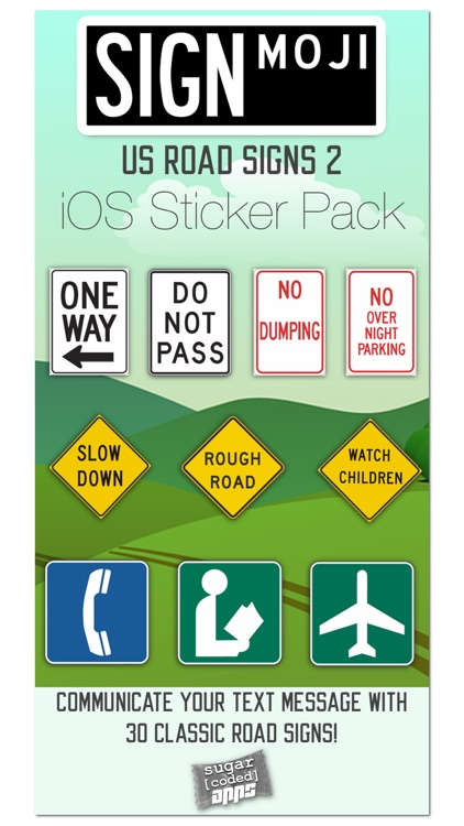SignMoji: US Road Signs 2