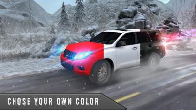 雪の 3 D シミュレータ運転 - 4 x 4 プラド ドライバー ゲームのおすすめ画像4