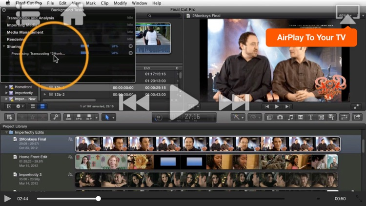 Course For Final Cut Pro X - Exporting and Sharing