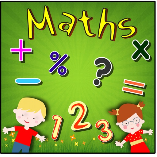 Maths age 3-9 icon