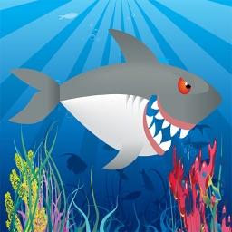Sharky & Friends' Endless Water Flyer Game