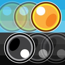 Gold & Dark Bouncing Ball - Rolling Hop Worldstar