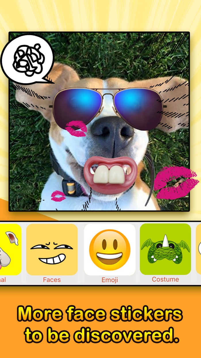 Face Filters - Dog & Other Funny Face Effects Screenshot