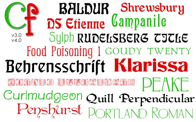 Font Carleton Available For Mac