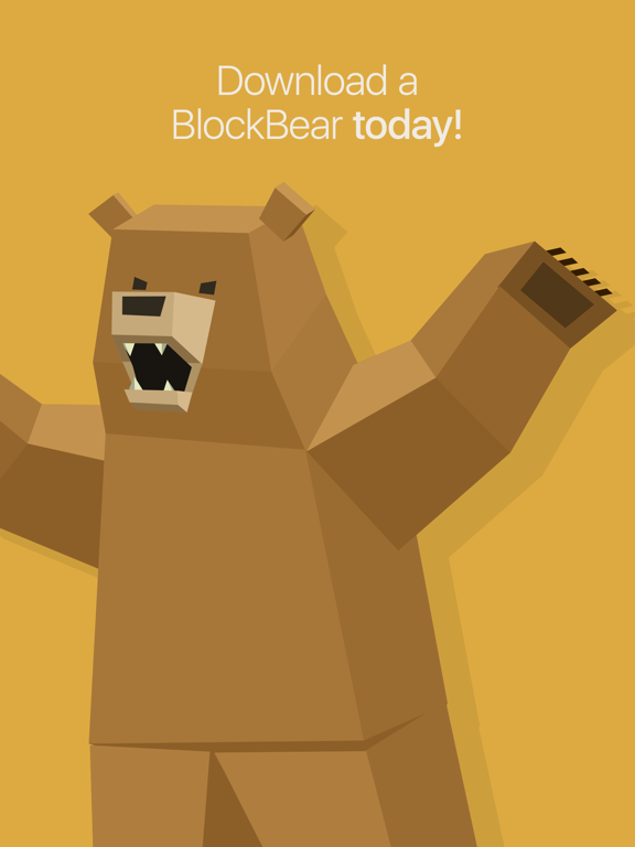 BlockBear! Screenshots