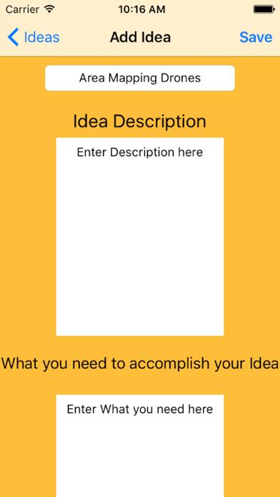 Lightbulb Notebook screenshot two