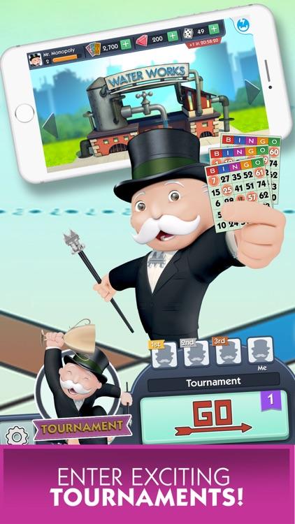 how to play monopoly bingo