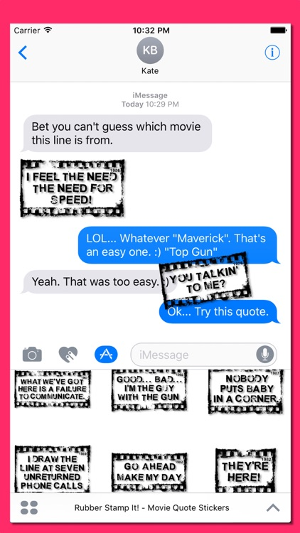 Rubber Stamp It - Movie Quotes