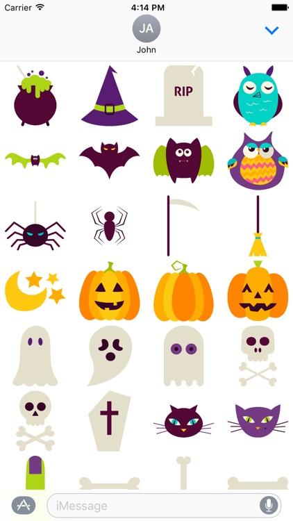 HalloMoji - Happy Halloween Emoji Stickers screenshot-3