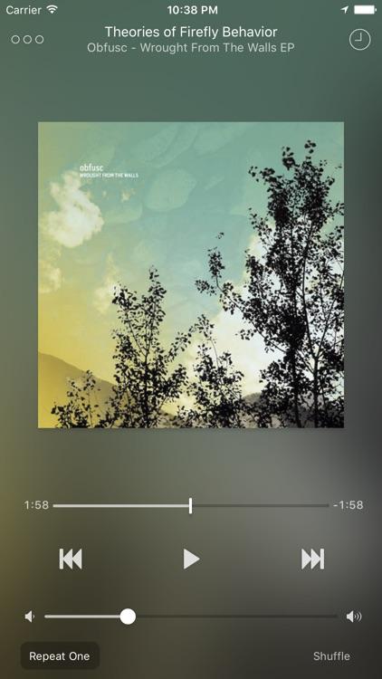 Ecoute - Beautiful Music Player screenshot-3
