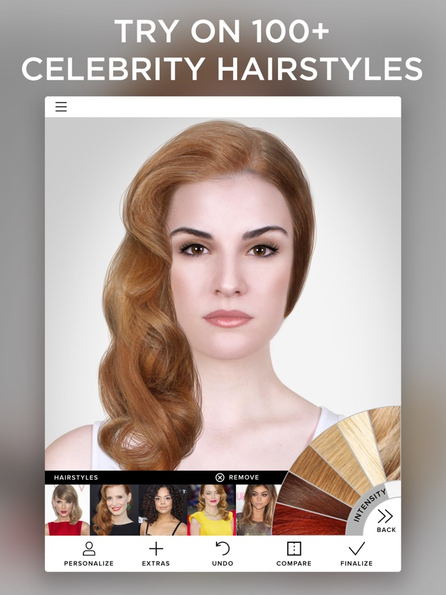 Virtual Makeover on the App Store