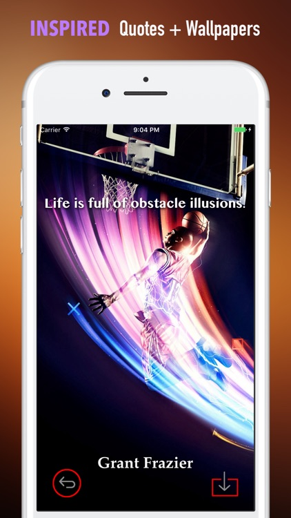 Crazy Basketball Wallpapers HD- Quotes and Art screenshot-4