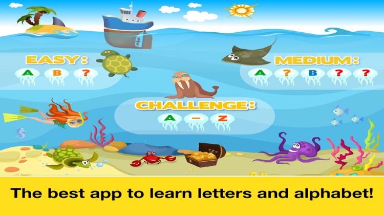 Letter Quiz Preschool  Alphabet & Letters Learning screenshot-4