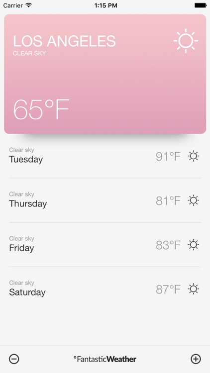 fantasticweather  day local weather forecast by