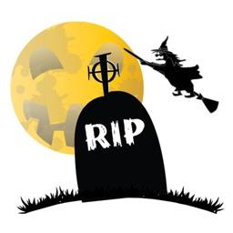 Crazy Halloween Sticker for iMessage #3