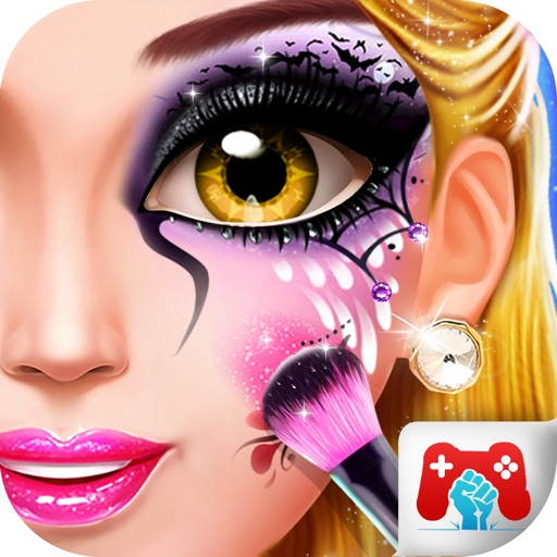 Halloween Ghost Girl Makeover