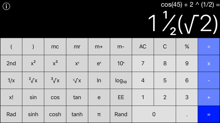 Calculator+ - Standard & Scientific Calculator