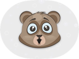 Cuddlebug Teddy Bear Emoji - Stickers