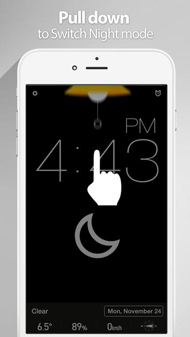 Screenshot #3 pour Red Clock.