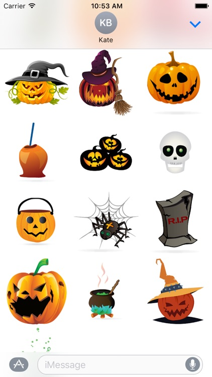 Halloween Sticker, Emoji - Fv Pack 04 screenshot-2