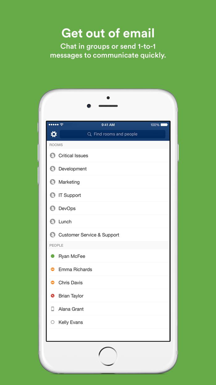 HipChat – Group chat for teams Screenshot
